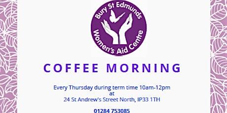 Bury St Edmunds Women's Aid- Coffee Morning tickets