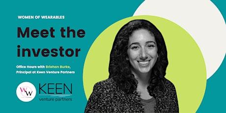 Meet the investor - Office hours with Briehan Burke, Keen Venture Partners tickets
