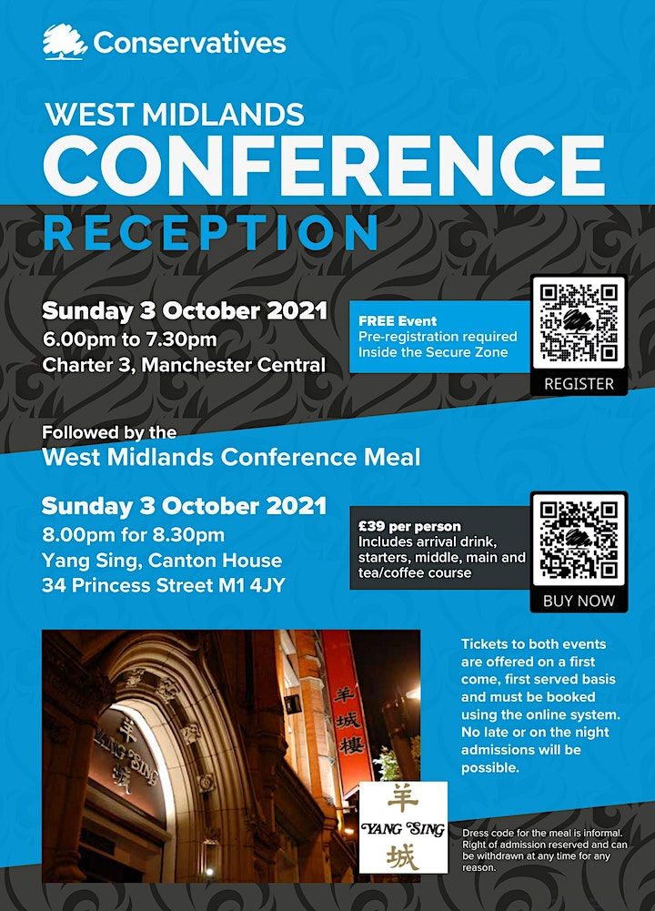 West Midlands Region Reception 2021 - NOW FULLY BOOKED image