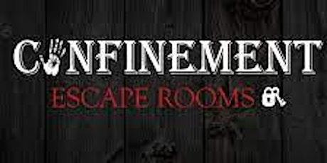 Confinement Escape Room tickets