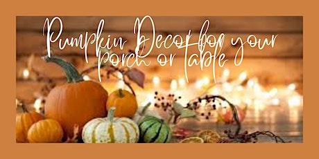 Crafty Pumpkin and Autumn Decor Workshop tickets