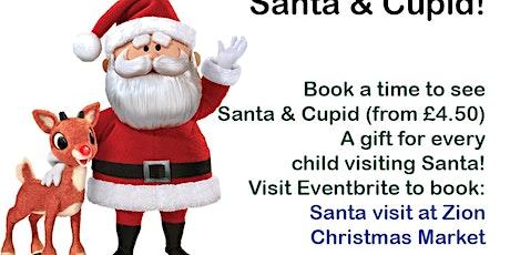 Santa Visit at Zion Christmas Market tickets