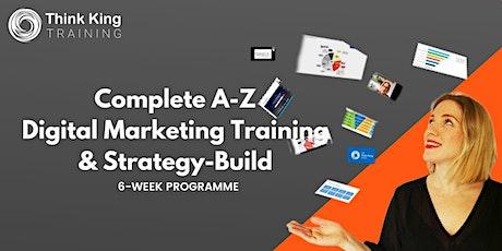 A-Z Digital Marketing Training & Strategy tickets