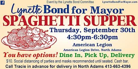 Lynette Bond Committee Spaghetti Supper tickets