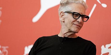 Masterclass David Cronenberg biglietti