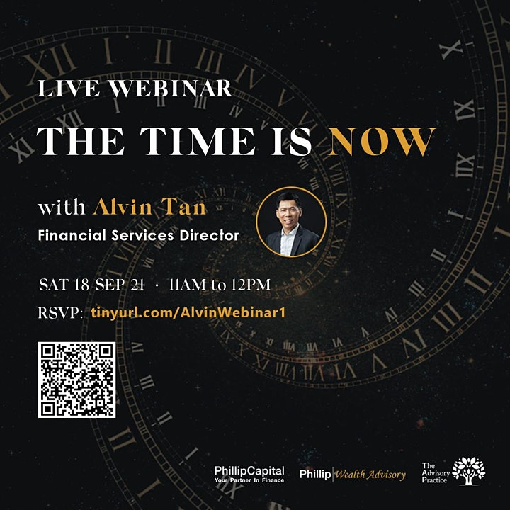 The Time is NOW : Career Webinar with Alvin Tan image