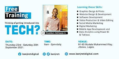 Learn Digital Skills for Free tickets