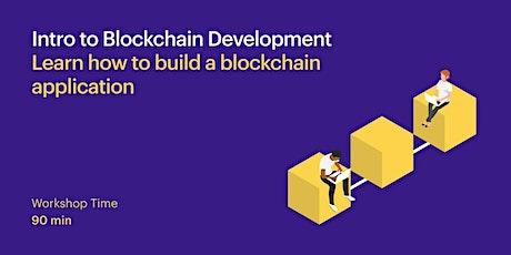 Intro to Blockchain Development tickets