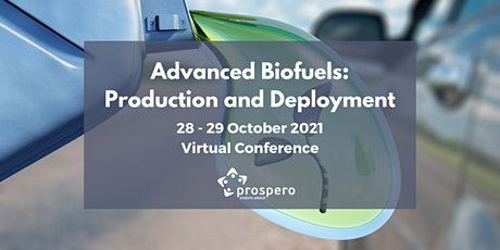 Advanced Biofuels: Production and Deployment tickets