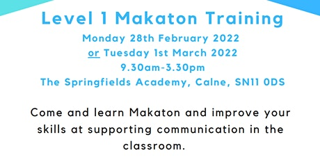 Level 1 Makaton Training tickets