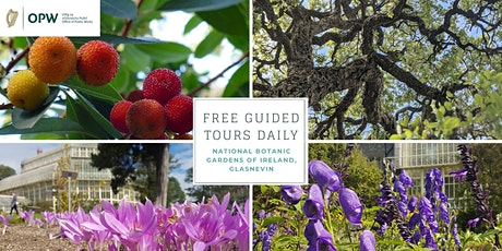 Daily Guided Tours of the National Botanic Gardens tickets