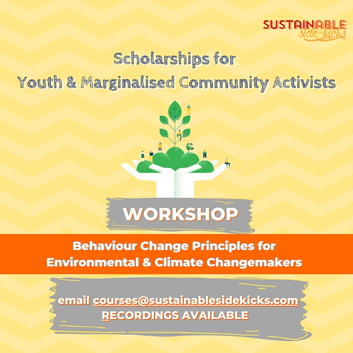 Behaviour Change Principles for Environmental & Climate Changemakers image