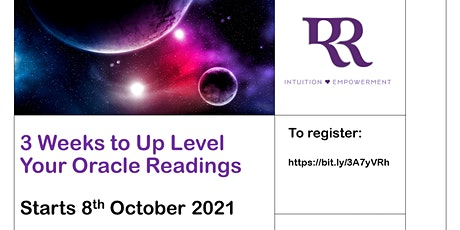 3 Weeks To Up Level Your Oracle Readings tickets
