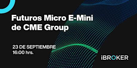Curso de trading: Futuros Micro E-Mini del Mercado Americano (CME Group) entradas