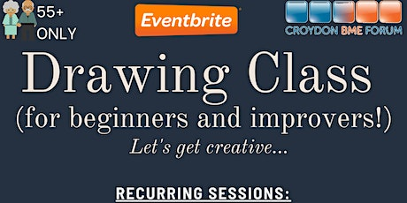 Drawing for Beginners (and Improvers!) – 55 tickets