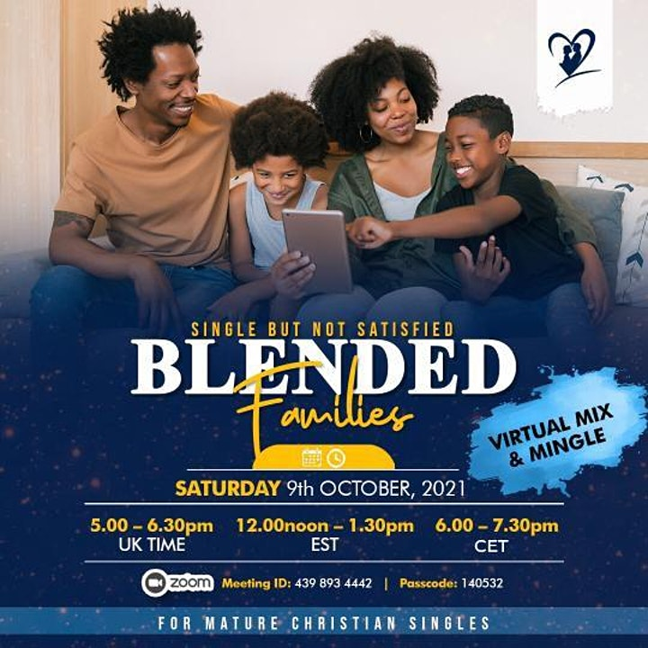 Mature Christian Singles presents ....Blended Families image