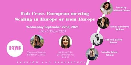 Fab cross European meeting tickets