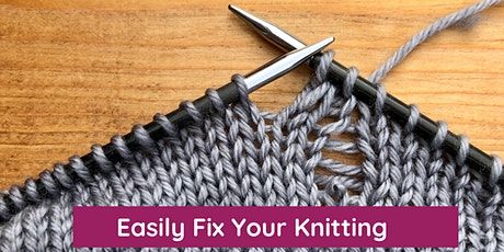 Easily Fix Your Knitting tickets