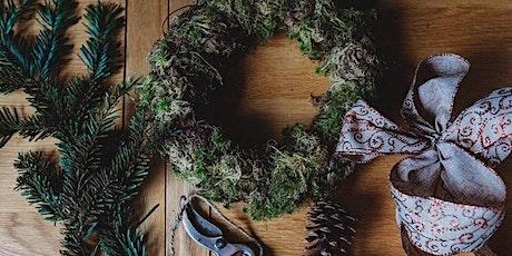 Little Blue Butterfly Christmas  Door Wreath Class tickets