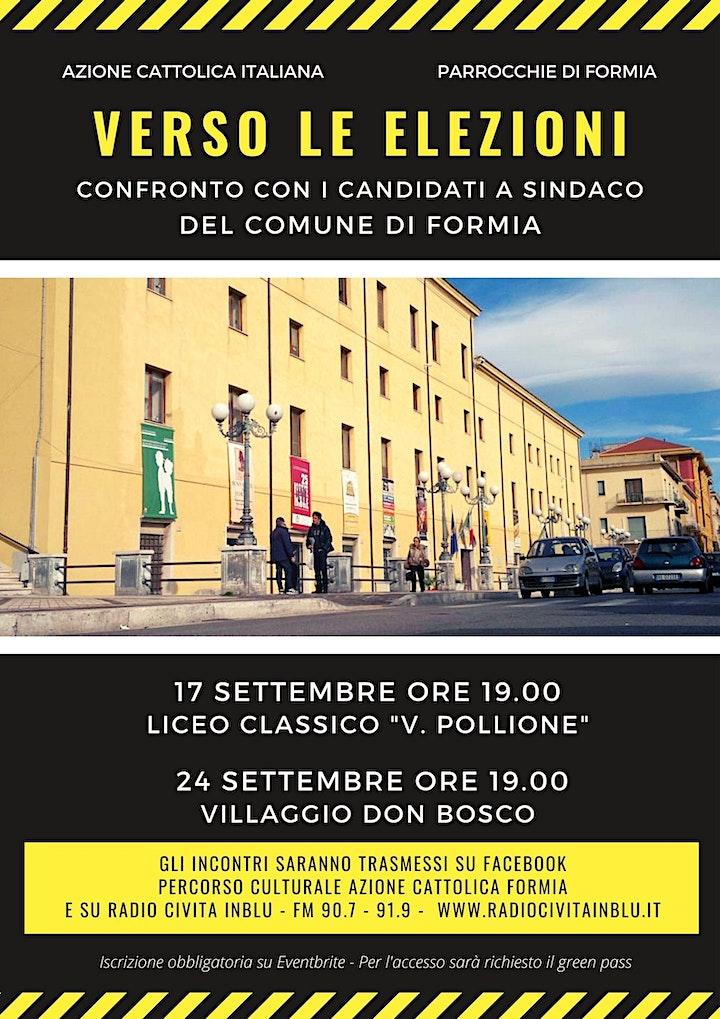 Immagine Formia - Confronto Candidati Sindaco - 24/09/2021