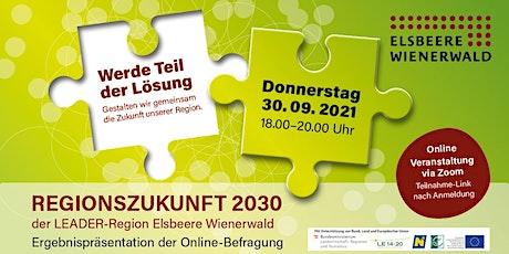 Info-Abend Regionsstrategie 2030 Tickets