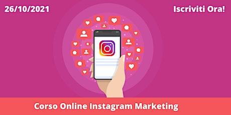 Corso Online di Social Media Marketing: Instagram Marketing tickets