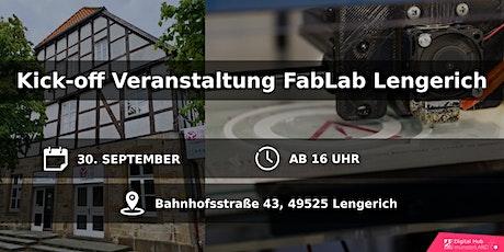 Kick-off Veranstaltung  FabLab Lengerich Tickets