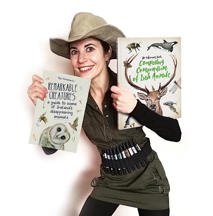 Copy of Wainfest 2021 -  Wildlife illustrator Aga Grandowicz image