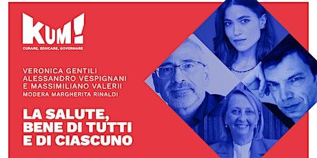 KUM!Festival 2021 - STREAMING GENTILI, VESPIGNANI, VALERII biglietti