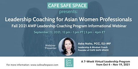 Leadership Coaching for Asian Women Professionals tickets