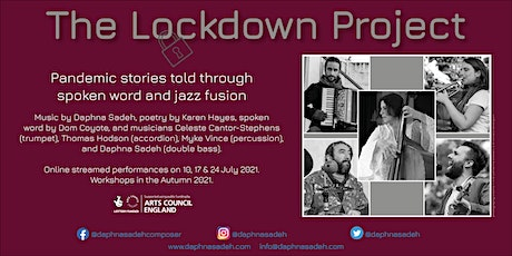 The Lockdown Project Workshops Autumn 2021 tickets