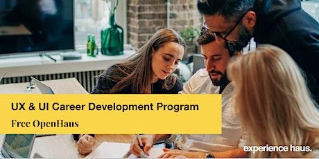 UX & UI Career Development Program OpenHaus tickets