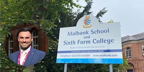 Malbank School Year 5/6 Open Evening tickets