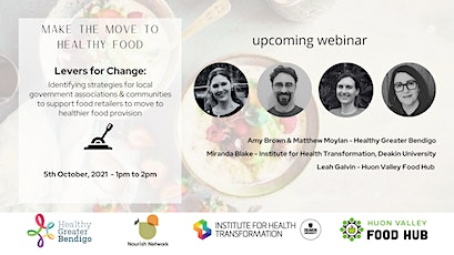 Levers for change: strategies to move to healthy food retail tickets