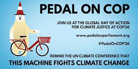 Edinburgh to Glasgow Pedal on COP26 tickets