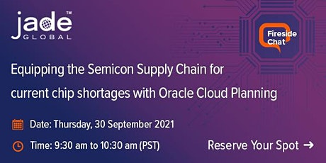 Build a Resilient Supply Chain for Chip Shortages with Oracle Cloud biglietti