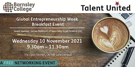 Global Entrepreneurship Week Breakfast Networking tickets