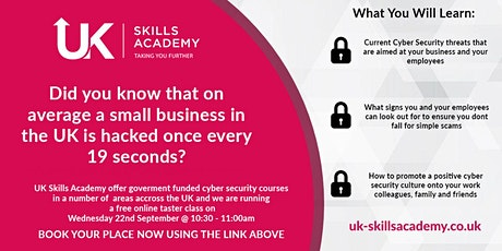 Cyber Security - taster session Tickets
