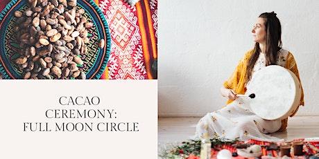 Cacao Ceremony: Full Moon Circle Tickets