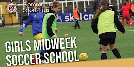Girls' midweek Soccer School : September 2021 - December 2021 tickets