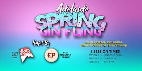 Spring Gin Fling tickets