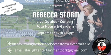 Rebecca Storm in concert -  Swing by the Lee tickets