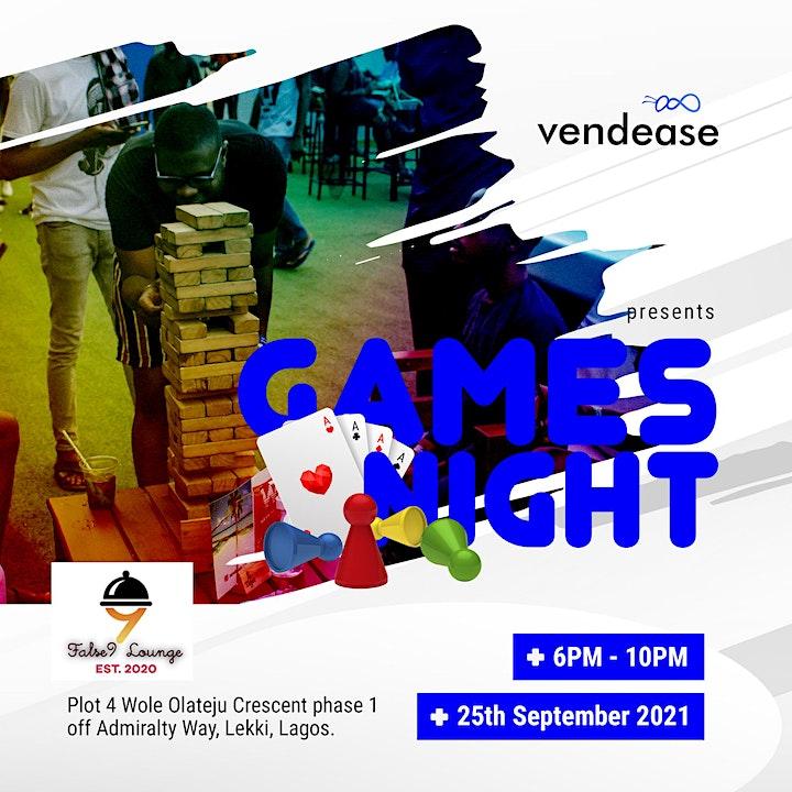 Vendease Games Night - September  2021 image