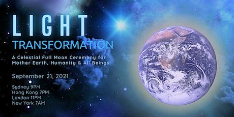 Light Transformation Full Moon Ceremony tickets
