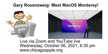 What's next in MacOS featuring Gary Rosenzweig tickets