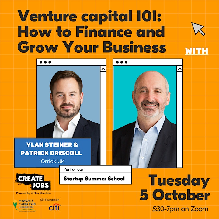Venture Capital 101: How to Finance and Grow your Business image