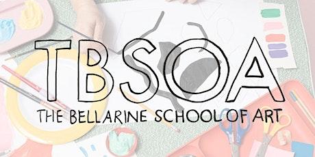 School Holiday Art Class - Kids Marine Watercolour tickets