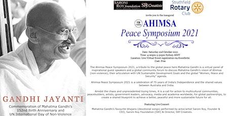 Ahimsa Peace Symposium 2021 tickets