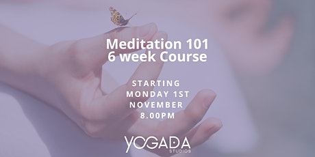 Meditation 101 Course tickets