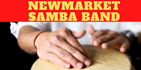 Newmarket Samba Band drumming class (Newmarket Community Arts) tickets